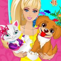 Гра Догляд за тваринами: Барбі піклується про вихованців