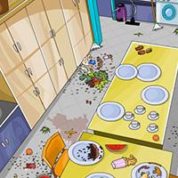 Гра Прибирання в будинку Лунтика