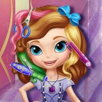 Гра Принцеси: Софія Прекрасна реальна стрижка