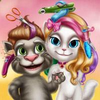 Гра Кішки: Кіт Том і Анджела