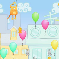 Гра Кішки: Літаючий котик
