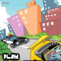 Гра Поліція: Гонки від поліції на машинах по місту