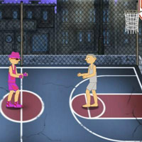 Гра баскетбол: Змагання зі стрітболу