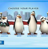 Гра Мадагаскар 2: Снігові гонки