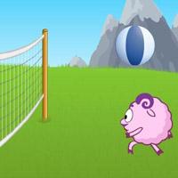 Гра  Волейбол з смішариками