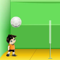 Гра Волейбол: М'яч головою