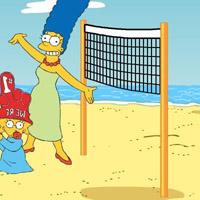 Гра Пляжний волейбол: Сімпсони
