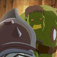 Гра Супергерої: Планета гладіаторів Халк