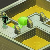 Гра Супергерої: Зелений ліхтар втікає