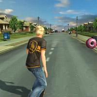 Гра Спорт: Трюки на скейті 3д