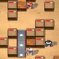 Гра на двох для хлопчиків: Бомбардувальник роботів