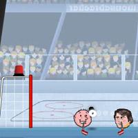 Гра на двох: Хокей головами спортивна гра для хлопчиків