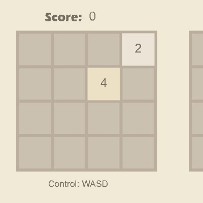 Гра 2048 на логіку