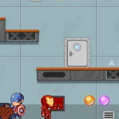 Гра битва месників з роботами