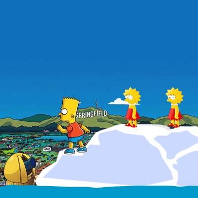 Гра Гомер проти Барта Сімпсона