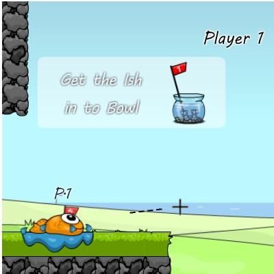 Ігри риб'ячий гольф