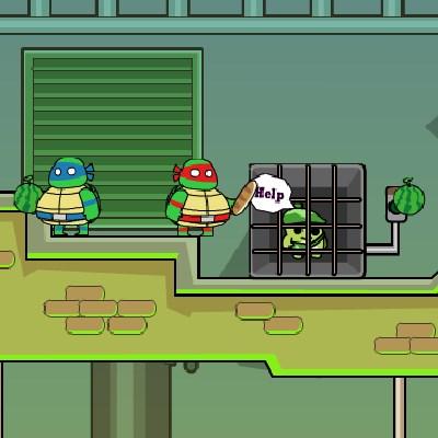 Гра нові черепашки ніндзя: Підземелля