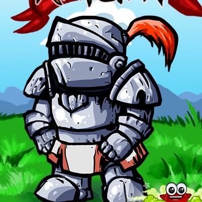 Гра бігаючий лицар: Збір щитів