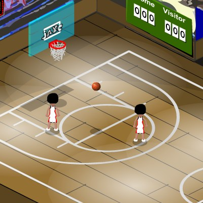 Гра баскетбол: один на один