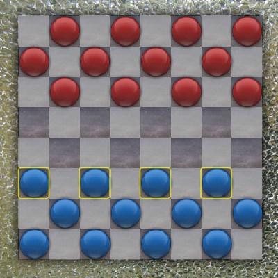 Гра на інтелект: шашки на двох