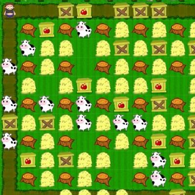 Гра переполох на фермі