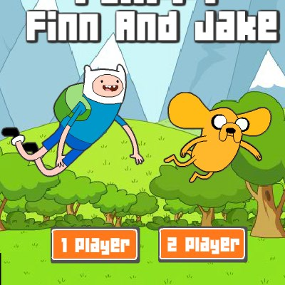 Гра летючий Фінн і Джейк