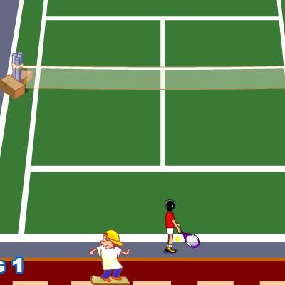 Гра теніс на двох