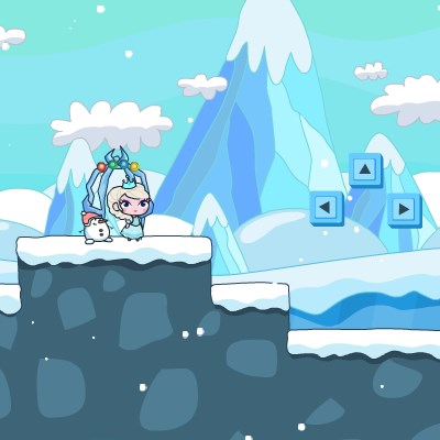 Гра Холодне серце: Врятувати Ельзу