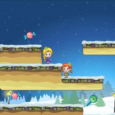 Гра Холодне серце: Ельза і Ганна