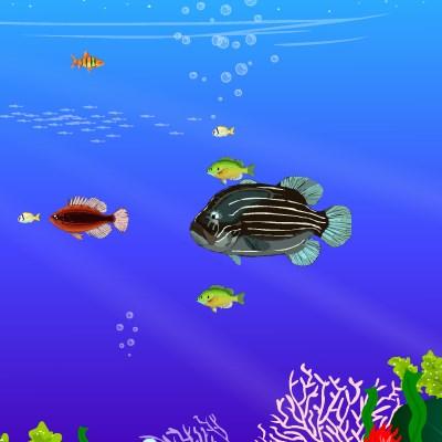 Гра дві рибки для дівчаток
