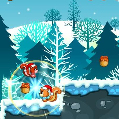 Гра веселі білки і Різдво