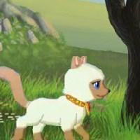 Гра бродилка: Чорний Пес і Біла Собачка