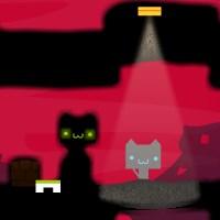 Гра бродилка з котами: Нічна прогулянка по вулицях