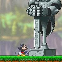 Гра бродилка: Порятунок принцеси Міккі і Дональдом