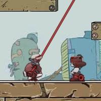 Гра бродилка: невдалий робот