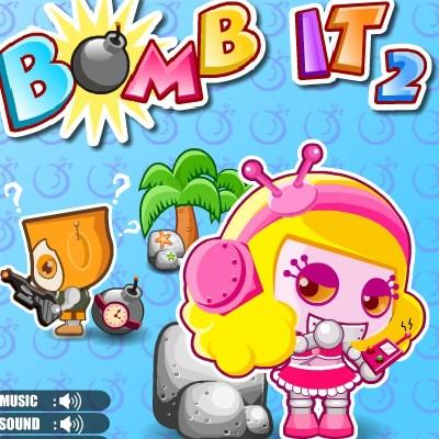 Гра бомбери на двох онлайн: Бомби 2