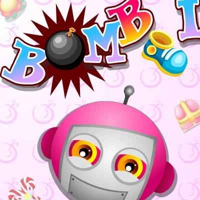 Гра бомбери на двох: 1 Бомби