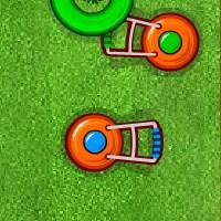 Гра гонки: Покосити газон