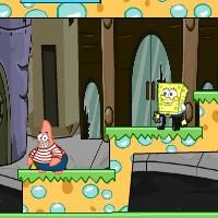 Гра Спанч Боб і Патрік: Втеча