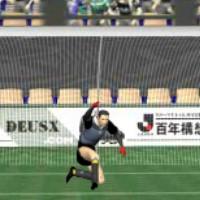 Гра футбол на двох: Удар по воротах