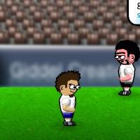 Гра командний футбол на двох