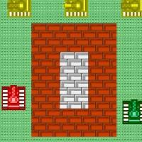 Гра танки на двох гравців: Розбити стінки