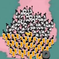 Гра стратегія на чотирьох: Картковий марш