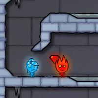 Гра Вогонь і Вода на двох: у Крижаному Храмі