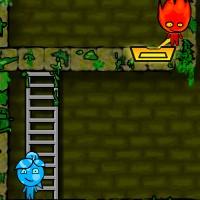Гра Вогонь і Вода на двох: в Лісовому Храмі 4