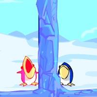 Гра Аркади на двох: Пінгвіни ловля риби