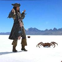 Гра Пірати Карибського Моря: Полювання на крабів!!