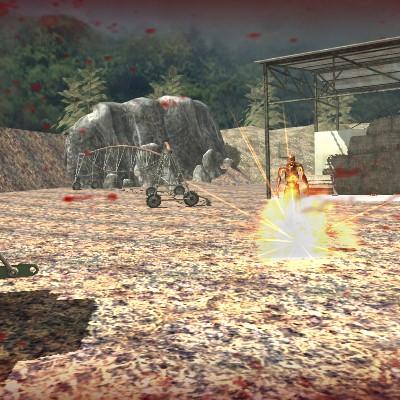 Гра Зомбі в 3д: Удар мерців виберися живим