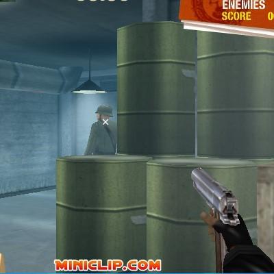 Гра шутер стрілялка: На мушці, вибратися з бункера