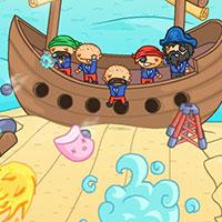 Гра Пірати Карибського моря захищають корабель
